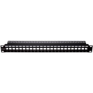 D-Link NPP-AL1BLK241 Cat5E & Cat6 Keystone 24 Port Patch Panel